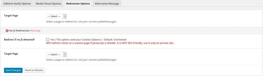 AdBlock-Notify-Redirection
